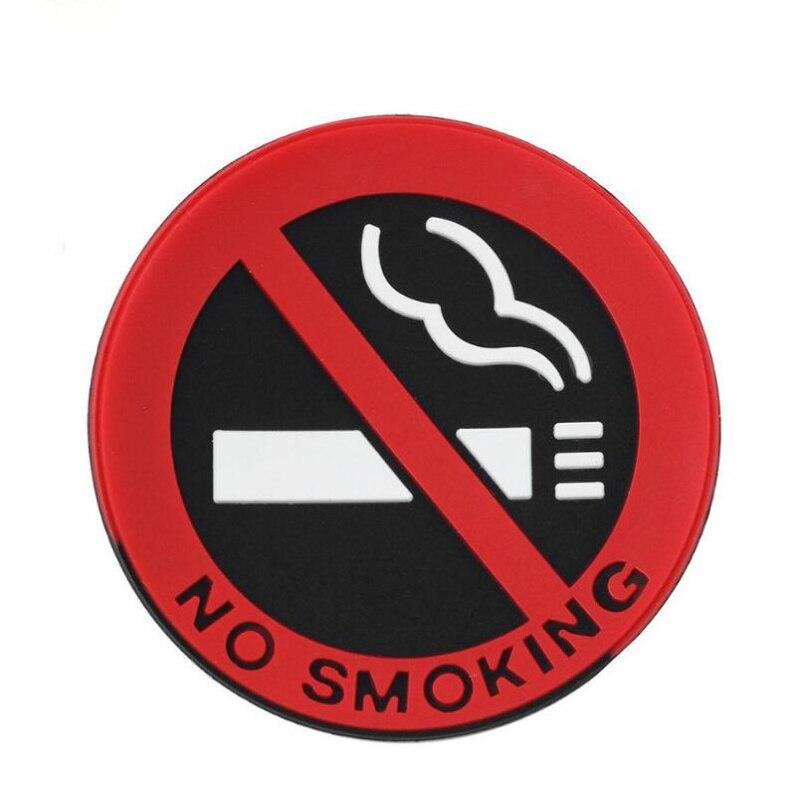 Автомобиль не курить знак советы Предупреждение логотип наклейки для Opel Mokka Corsa Astra G J H insignia Vectra Zafira Kadett monza Combo Meriva