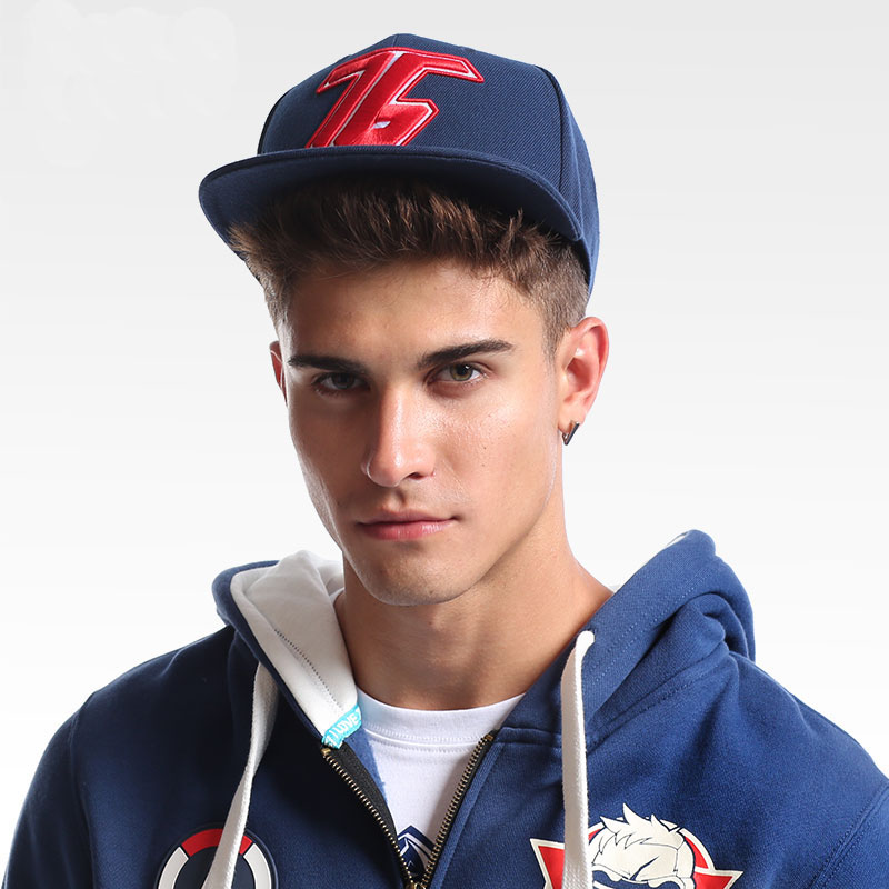 Cool Blizzard Watch Over Soldier76 Hat Men Boy OW Reaper Hero Black Blue Adjustable Embroidery Baseball Caps