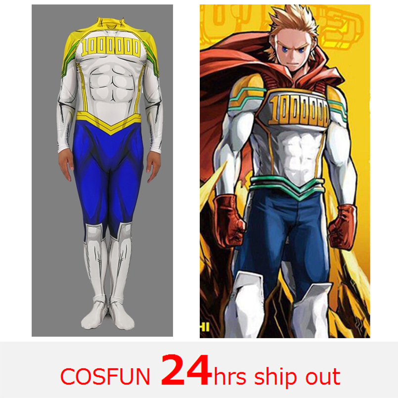 Mirio All Might Cosplay Costume My Hero Academia Boku no Hero Academia 3D Print Lycra Ladys Zentai Bodysuit Girls/Women Suit