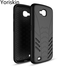 Slim Armor Shockproof Cover 2 In 1 Anti-knock Shell Case For LG LV9/ X Venture Hybrid Protective Skin Phone Case