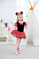 E Babe Wholesale Minnie Girls Christmas Clothes Performing Costumes Children Dance Skirt Ballet Skirt