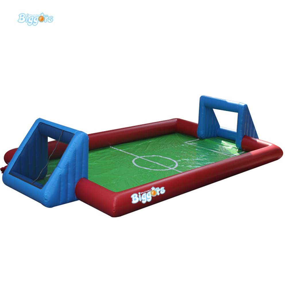 Inflatable Soapy Stadium Inflatable Soccer Field Playing With Water