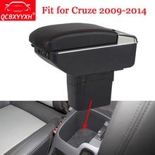 Автомобиль-Стайлинг ABS автомобиль подлокотник окно центральной консоли коробка для хранения держатель дело Авто Интимные аксессуары для Chevrolet Cruze 2009- 2014 qcbxyyxh