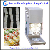 Sushi maker roller equipment sushi rice roll shaping machine
