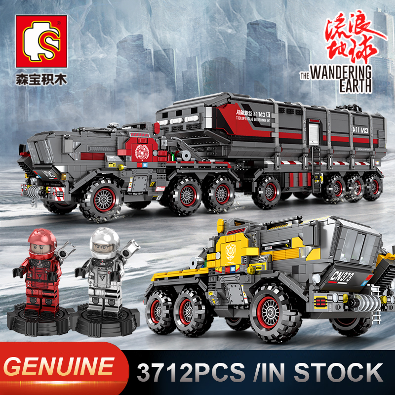 Sembo Military Tank Figther Trucks Comptible LeSet Technic Building Blocks Bricks Educational Toys Birthday Gifts-in Blocks from Toys & Hobbies    1
