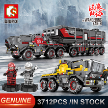 Sembo Military Tank Figther Trucks Comptible LeSet Technic Building Blocks Bricks Educational Toys Birthday Gifts