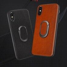 Vogek Genuine Leather Phone Case for iPhone 8 6 6s Plus Anti
