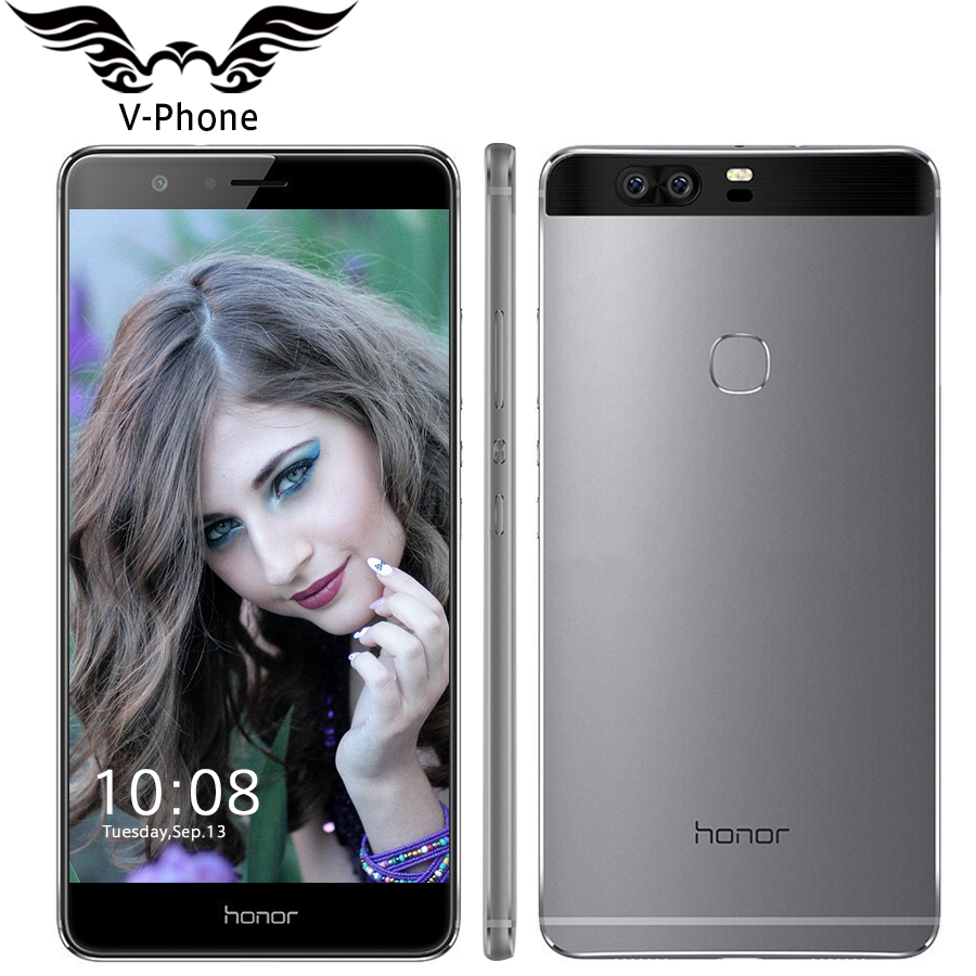 Original Huawei Honor V8 Mobile Phone 5.7 inch 2560*1440PX 2K Screen Android 6.0 Kirin 955 Octa Core 4GB RAM 32GB ROM VR Glass