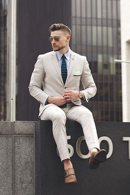 Gentleman casual fashion