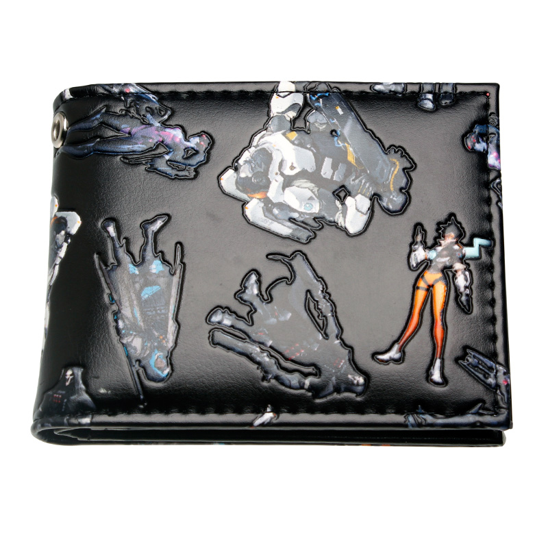 OVERWATCH DEBOSSED BI-FOLD WALLET DFT-10115 цена