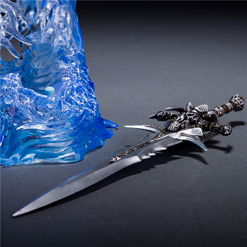 Image 3 - wow Arthas Menethil's Weapon Frostmourne Sword with LED Lighting Figma Starz PVC Action Figure Toy-in Action & Toy Figures from Toys & Hobbies
