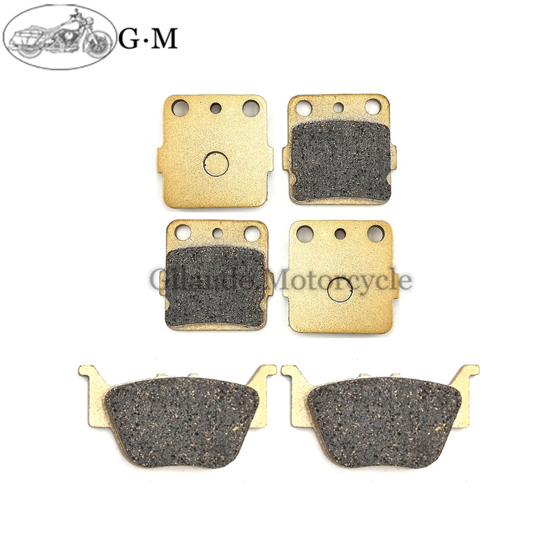 Motorcycle Front / Rear Brake Pads For Honda TRX 420 FA6 Fourtrax Rancher 4x4/Auto/DCT/IRS/EPS 2014-2015(China)