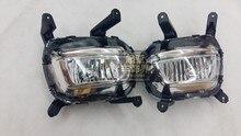 Высокое качество противотуманная фара для Kia K2 Kia Rio 2014 — 15, С H8 лампы, 12 В, 35 Вт, Одна пара 2 шт.