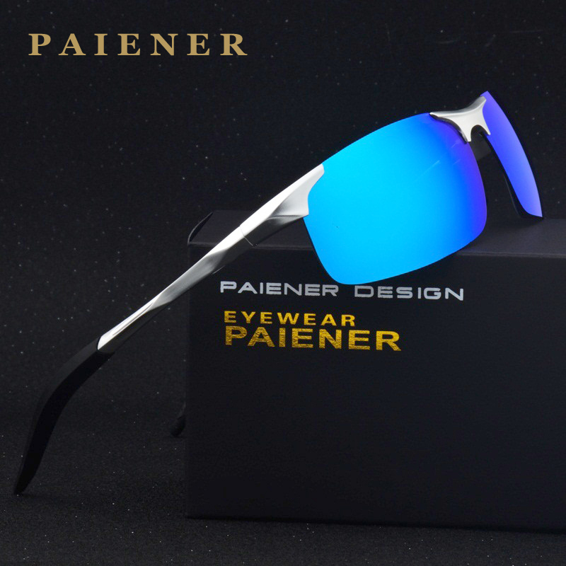 font b Fashion b font Brand Designer Aluminum Magnesium Men s women Sun Glasses Polarzed