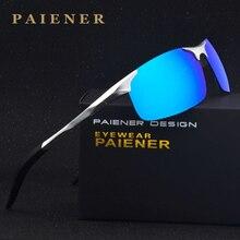Fashion Brand Designer Aluminum Magnesium Men's women Sun Glasses Polarzed Mirror lens Male Eyewear Sunglasses For Men women