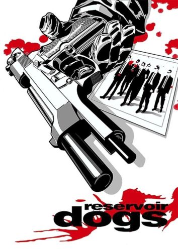 Mens T Shirt Reservoir Dogs Poster Ideal Gift or Birthday Present New T Shirts Funny Tops Tee New Unisex Funny Tops in T Shirts from Men 39 s Clothing