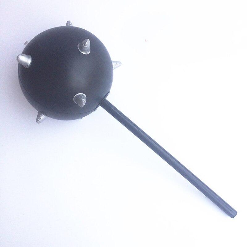 1 Pc Aufblasbare Pvc Soft Air Schwarz Hammer Stick Mit Glocke Kinder Im Freien Aufblasbare Pool Sport Spielzeug Für Kinder Geburtstag Geschenke