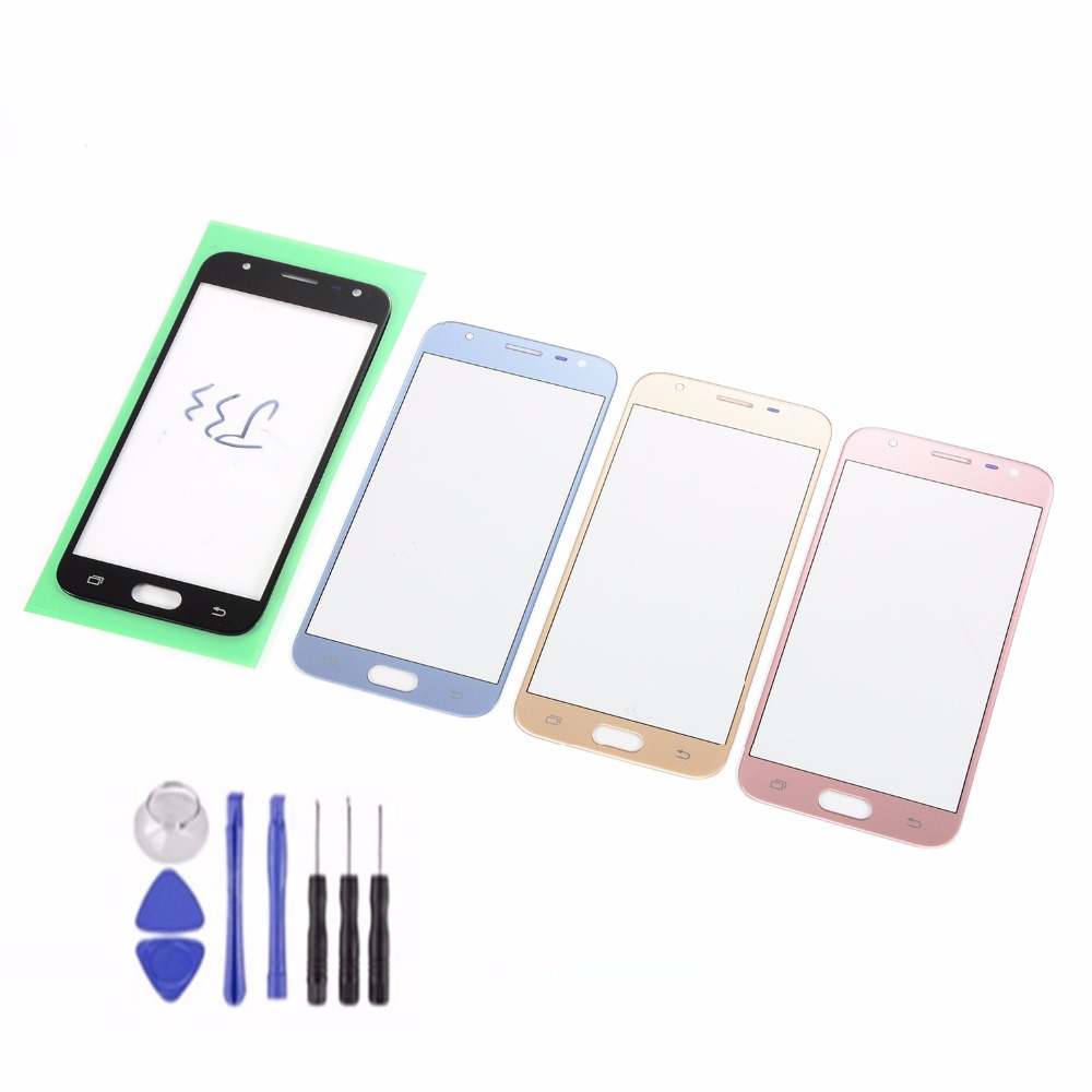 For Samsung Galaxy J3 2017 J3 Pro J330 J330F J330Y J330DS Touch Screen Sensor LCD Display Digitizer Glass With Adhesive+Tools