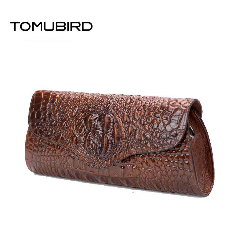 TOMUBIRD new fashion superior leather designer famous brand women bags evening bag Embossed Crocodile genuine leather clutch bag
