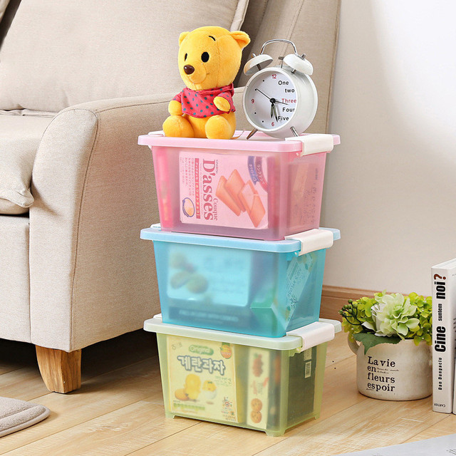 Multifunction Thicken Plastic Home Storage Box Stationery Laundry Basket  Baby Toys Storage Bag Fold Picnic Pouch