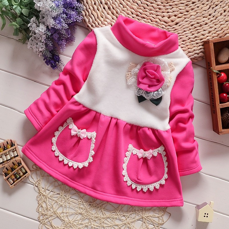 2015 Kids Christmas Outfits Clothes Baby Girls Winter -2105