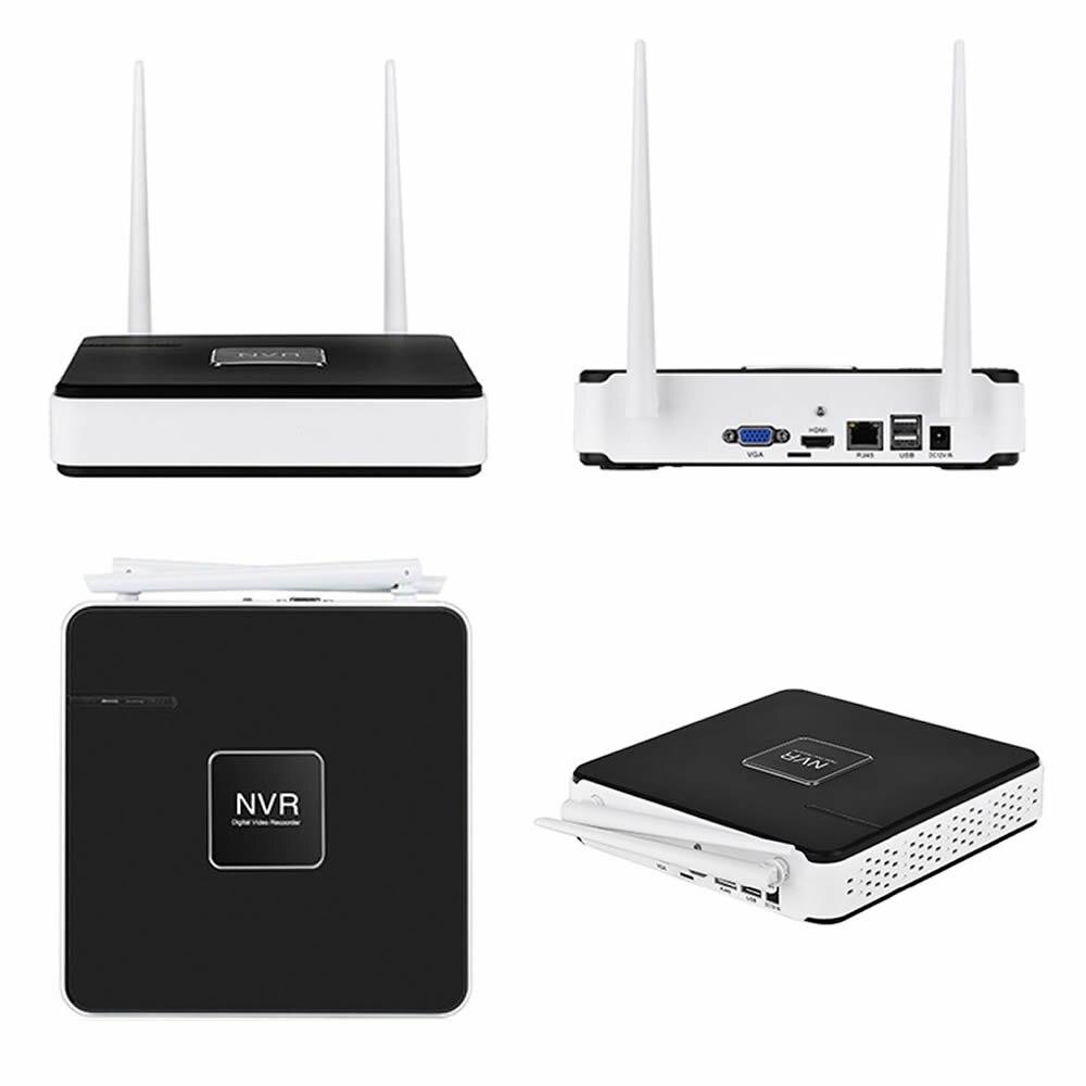 Wireless Security Camera System 2PCS 720P IP Camera Wifi Outdoor ...