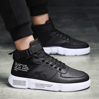 Men's High Top Trainers Fashion Comfortable Shoes for Men Sneakers Man Casual Footwear Male Adult Luxury Tenis Masculino Adulto