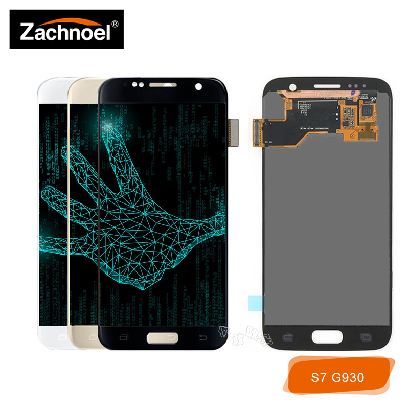 Replacement Screen for <font><b>Samsung</b></font> <font><b>Galaxy</b></font> <font><b>S7</b></font> G930 G930F G930A G930V G930P LCD <font><b>Display</b></font> with Touch Screen Digitizer <font><b>Assembly</b></font> image