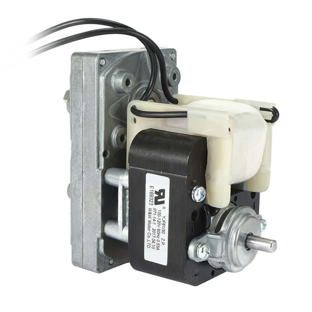 UXCELL FC-YJ61 AC100V-120V 60Hz 76RPM CW Shaded Pole Motor Universal Geared Motor Hot Sale цена