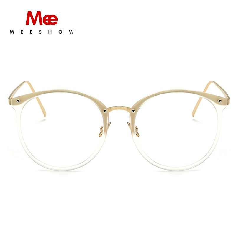 a73f54c901 MEESHOW optical Glasses frame clear glasses women stylish Elegent style  eyeglasses PINK vintage glasses frame chic