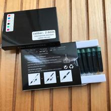 8 шт одноразовые зеленые чернильные картриджи для перьевой ручки