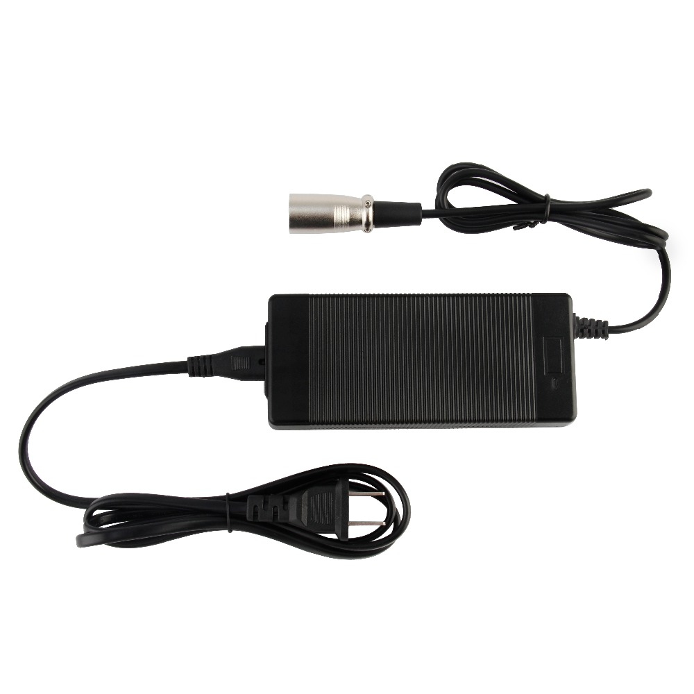 42V 2A charger for 36V 2A lithium battery charger 10 serise 36V charger for balance car charge