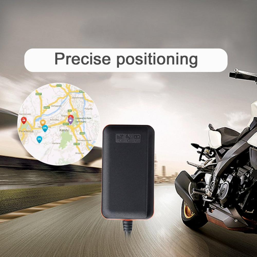 2018 Anti-theft GPS Car Auto Micro Positioner Waterproof GPS Vehicle Tracker TK108 ACC Ignition And Flameout Inform