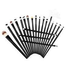 Hot sale 20 Pcs Makeup Brushes Set Powder Foundation Eyeshadow Eyeliner Lip Cosmetic Brushes Maquiagem Stock Clearance