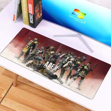 Duża XL 70x30cm Apex Legends gumowa podkładka pod mysz do gier dla komputer stancjonarny Laptop podkładka pod mysz dla graczy podkładki pod mysz podkładka pod klawiaturę cheap SIANCS RUBBER 700*300 mousepad Other Zdjęcie