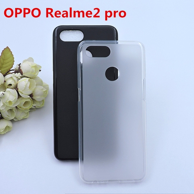 US $0 5 |For OPPO Realme 2 pro Silicone tpu full protective case  funda,Realme2 pro phone silica gel tpu cover skin soft back cover coque -in  Fitted