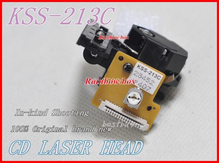 नई मूल KSS-213C / KSS213C ऑप्टिकल पिक लेजर लेंस KSS213E KSS-213B KSS-213E सीडी / वीसीडी प्लेयर लेजर हेड KSS213C की जगह ले सकता है