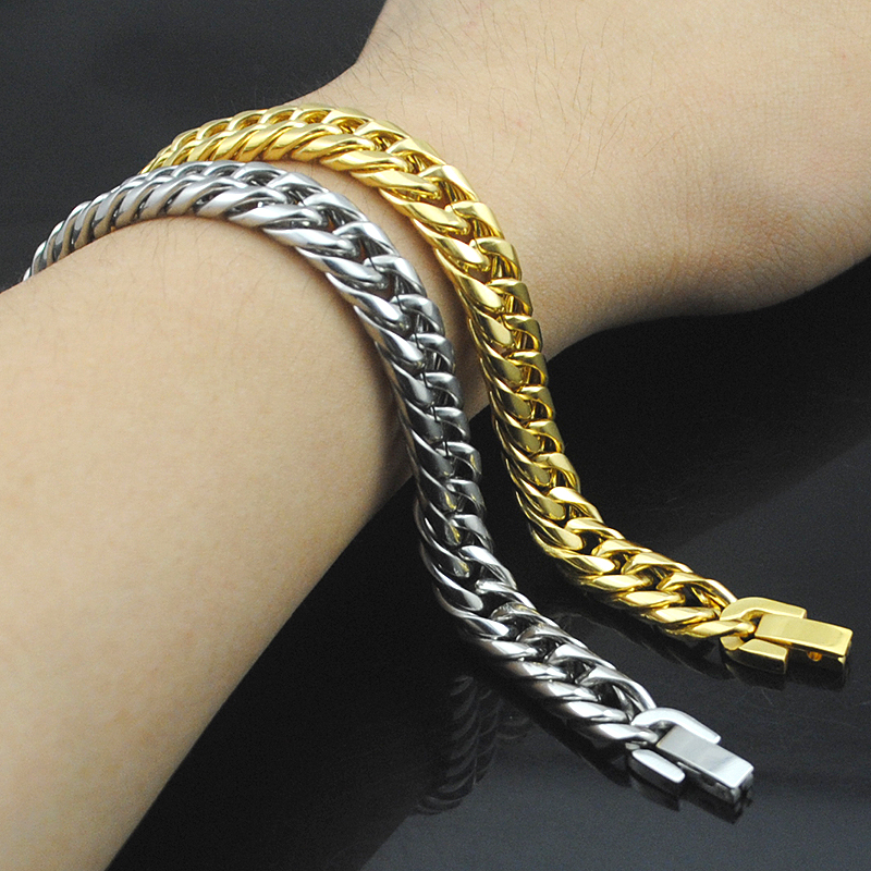 Boy's Men's Stainless Steel Link Chain B