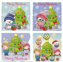 Diamond Painting Full Round  5D DIY Christmas Tree Embroidered Mosaic Home Decor