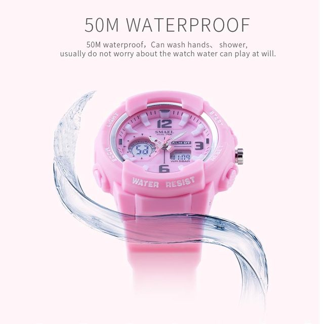 Children Watches For Boys Girl SMAEL Kid Watch Waterproof Sport Alarm Clock 1643 Christmas Presents Watch For Kids Digital Watch 4