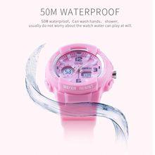 SMAEL Digital Waterproof Kids LED display Watches