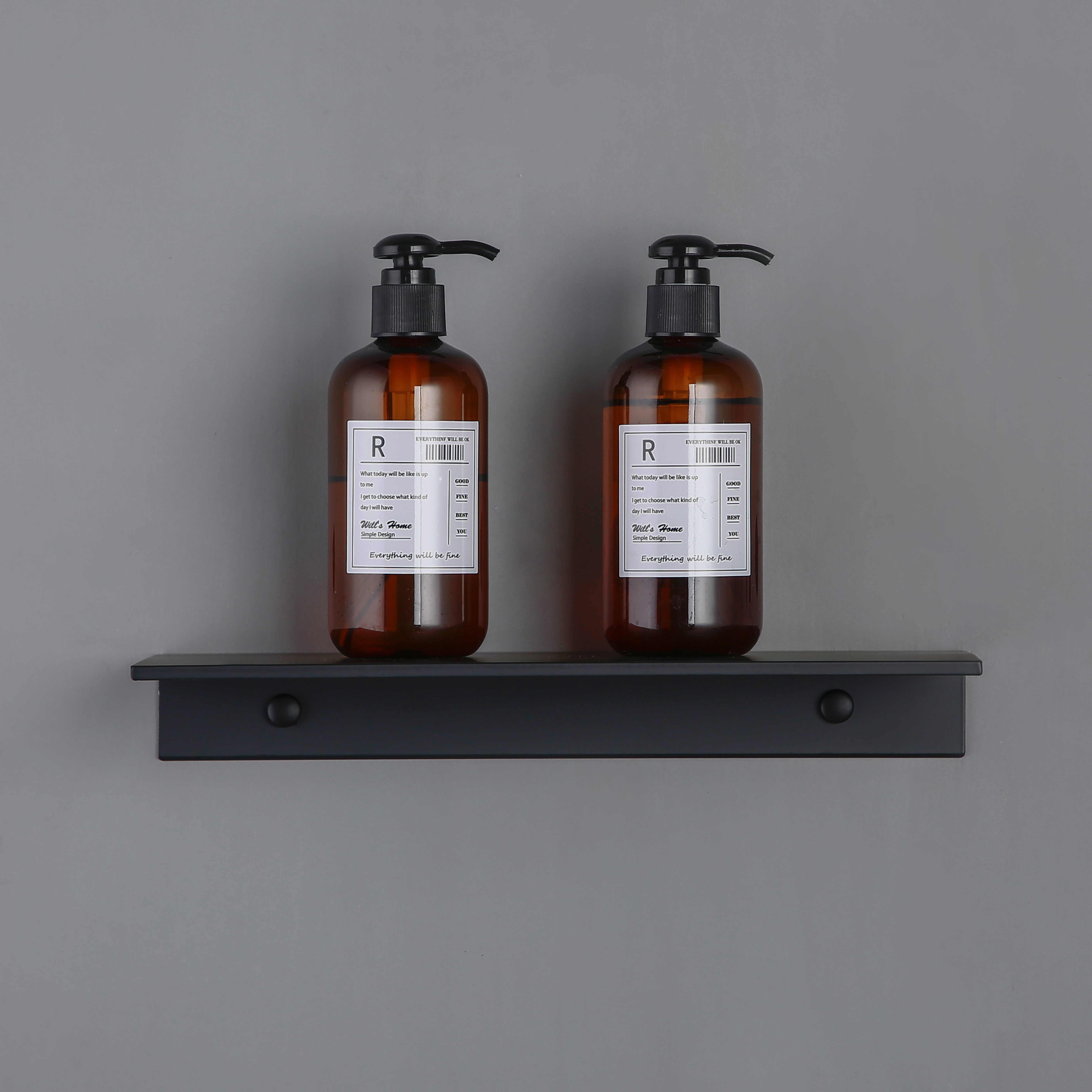 30-60 cm 블랙 주방 알루미늄 욕실 선반 샤워 스토리지 랙 벽 마운트 코너 바구니 샴푸 칫솔 컵 선반