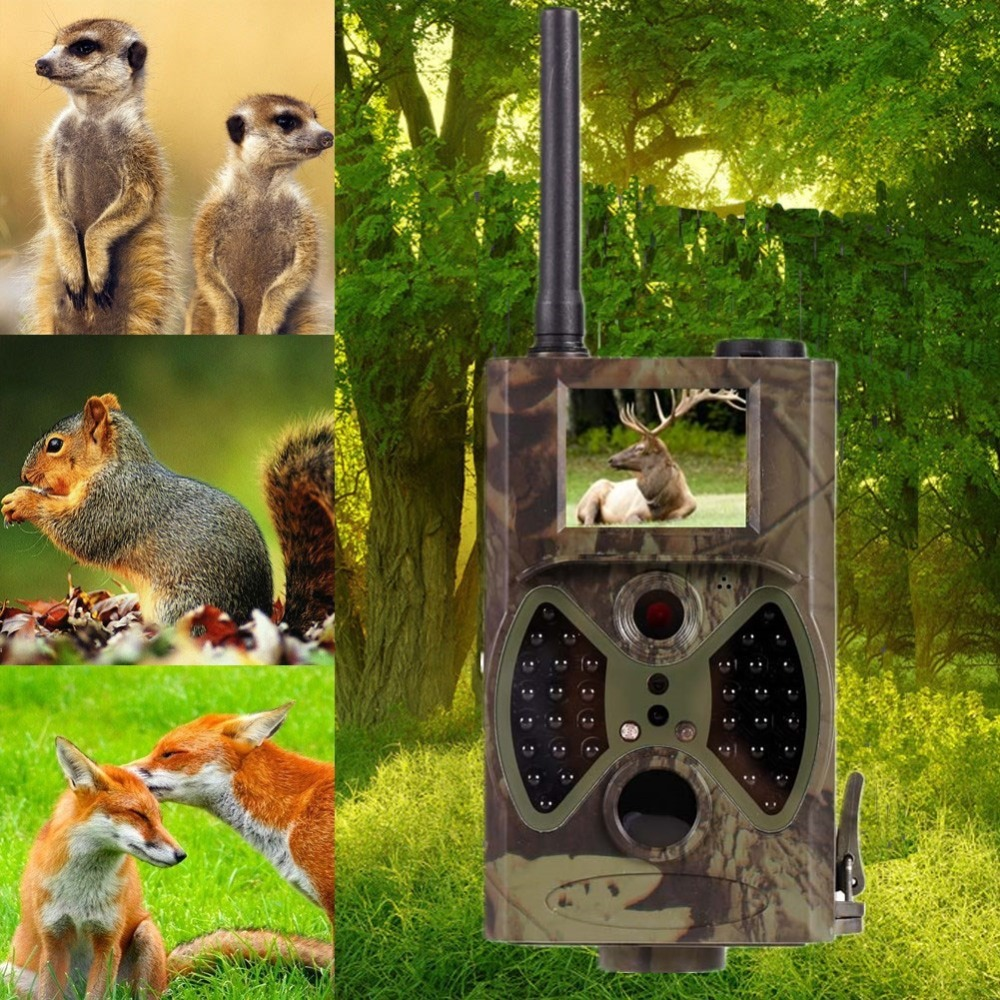 Wireless 12MP GPRS GSM Hunting Trail Camera Infrared Night Vision 940nm Digital Hunting Video Camera trap photo Motion detection 12mp trail camera gsm mms gprs sms scouting infrared wildlife hunting camera hd digital infrared hunting camera