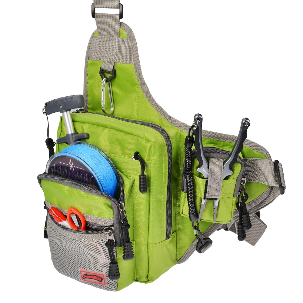 ab3fbebea6 KastKing Waterproof Fishing Bag Multi Purpose Outdoor Waist Bag Pesca  Fishing Tackle Bags Green Orange-in Fishing Bags from Sports    Entertainment on ...