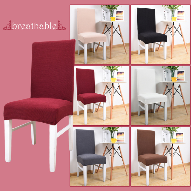 Free Shipping 1Pc Stretch Fabric Spandex Chair Covers For Restaurant Chairs  Office Chair Housse De Chaise