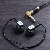 Newest OURART Ti7 Dynamic Driver High Fidelity Metal Flat Hifi Music Monitor Head Earphone Earbud PK