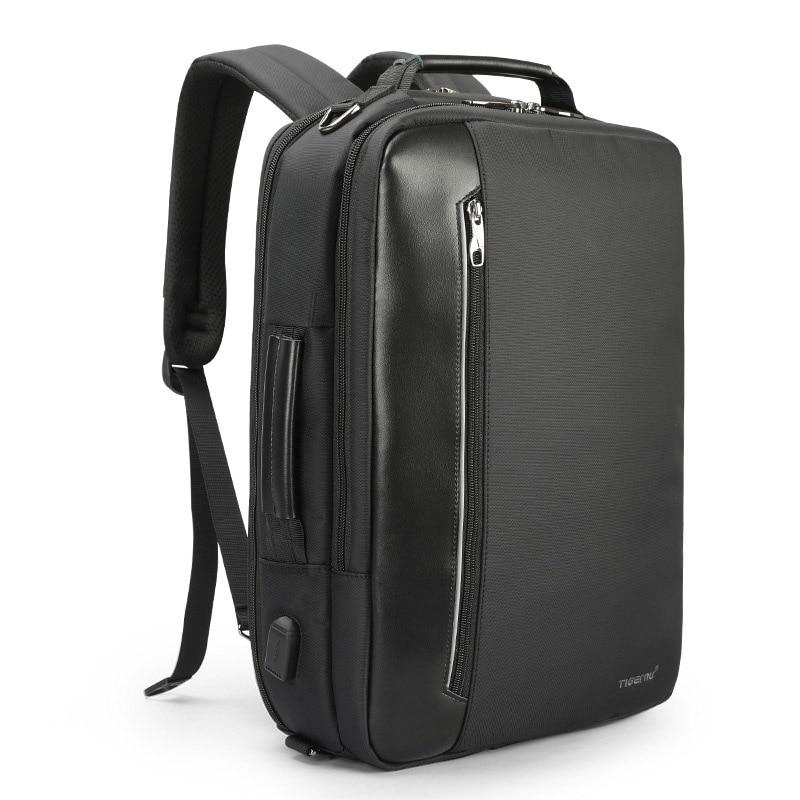 Multifunction Men Business Backpack For Laptop Backpack 15.6 Unisex Travel Backpack Bag With USB Water Resistant Mochila 2019
