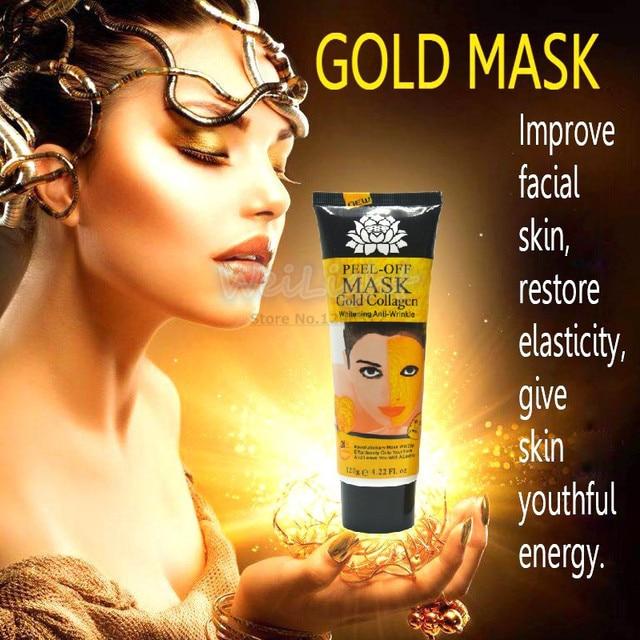 100% Original 24K golden mask Anti wrinkle facial mask for face care tighten skin, whitening face masks for face lifting firming 1
