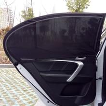 2Pcs רכב חלון כיסוי שמשיה וילון UV הגנת מגן שמש צל רשת שמש יתושים אבק הגנה
