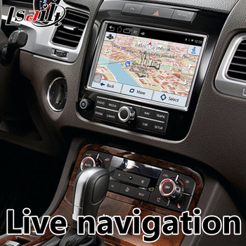 Android 6 0 GPS Navigation Box for Volkswagen Touareg RNS850 Video  Interface integration with WIFI
